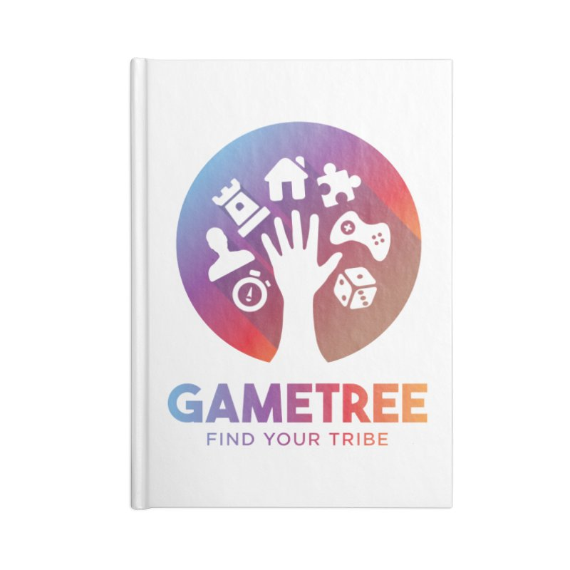 Support GameTree Accessories Lined Journal Notebook by GameTree Shop