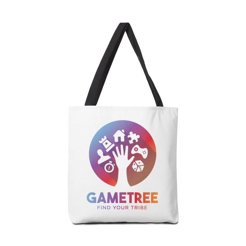 Support GameTree Accessories Tote Bag Bag by GameTree Shop