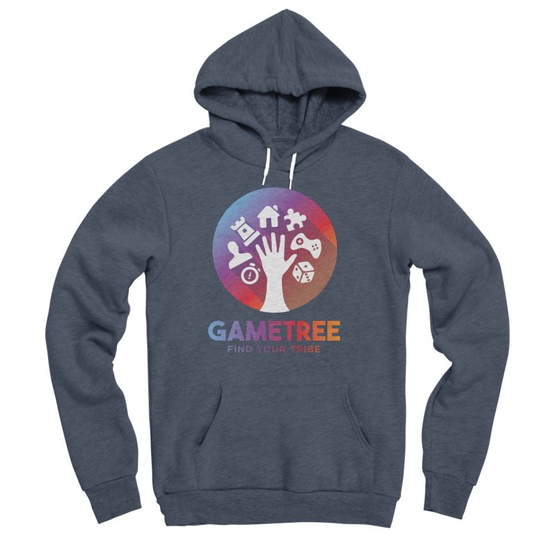 Support GameTree Men's Sponge Fleece Pullover Hoody by GameTree Shop