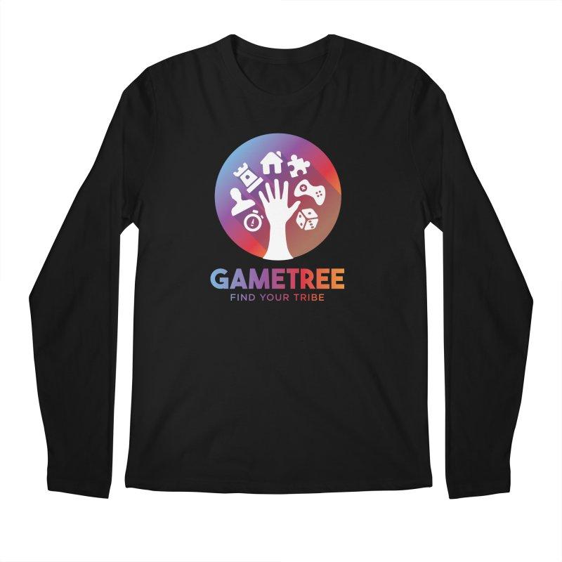 Support GameTree Men's Regular Longsleeve T-Shirt by GameTree Shop