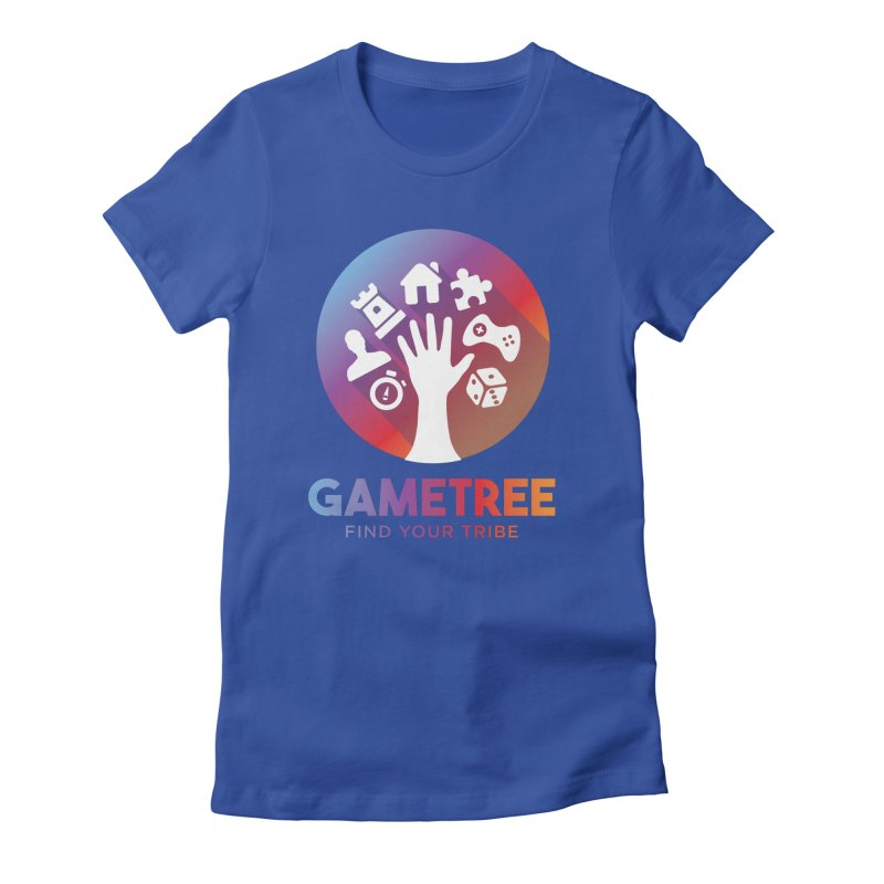 Support GameTree Women's Fitted T-Shirt by GameTree Shop