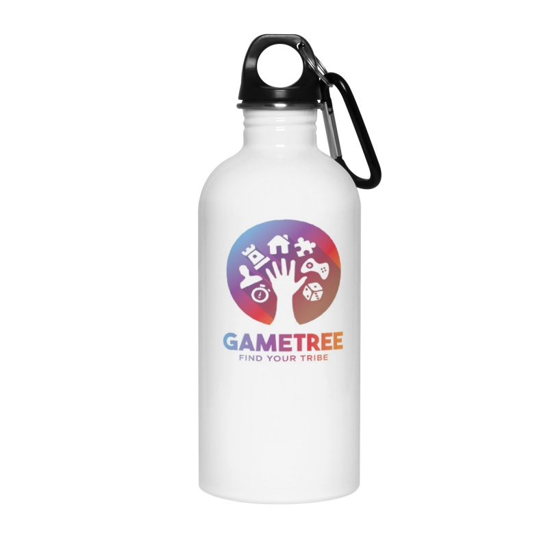 Support GameTree Accessories Water Bottle by GameTree Shop