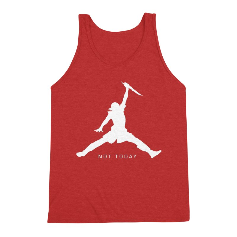 What do we say to Death? Men's Triblend Tank by Gamma Bomb - Explosively Mutating Your Look