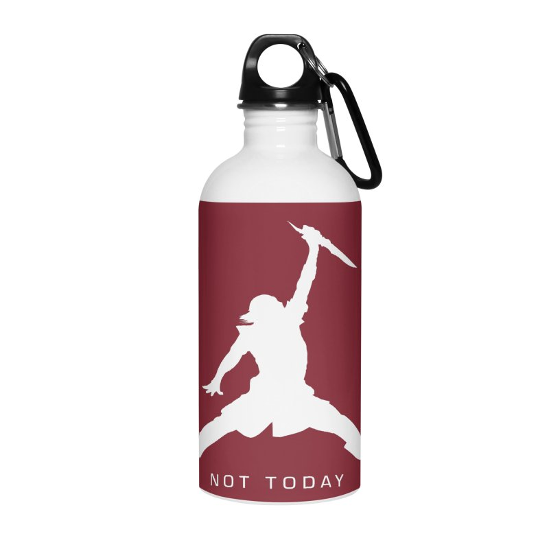 What do we say to Death? Accessories Water Bottle by Gamma Bomb - Explosively Mutating Your Look