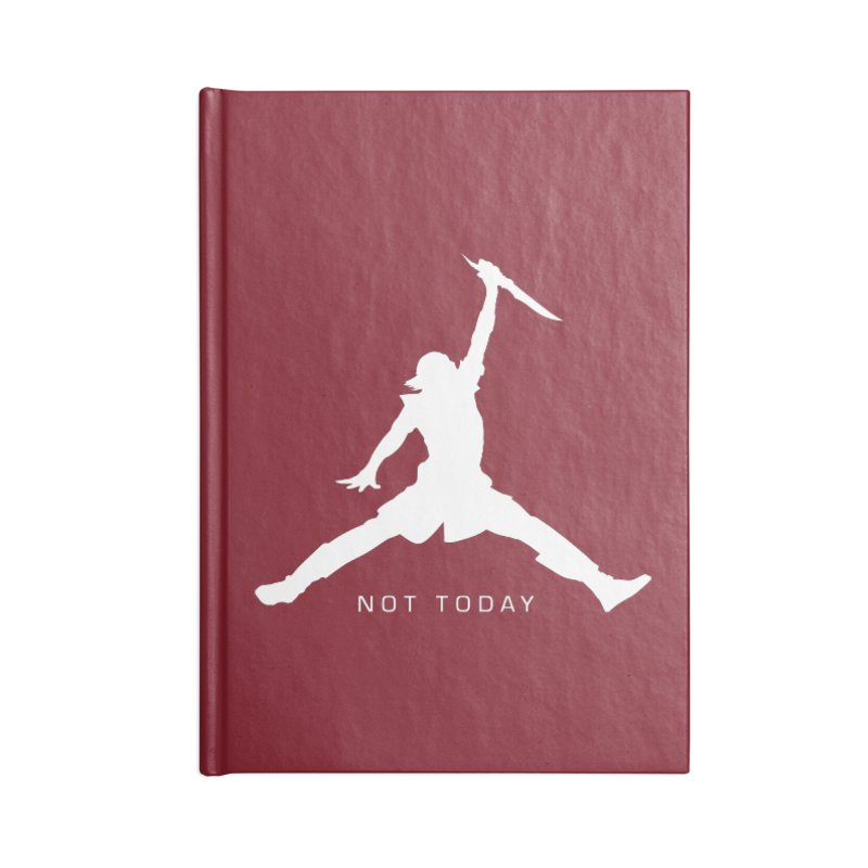 What do we say to Death? Accessories Blank Journal Notebook by Gamma Bomb - Explosively Mutating Your Look