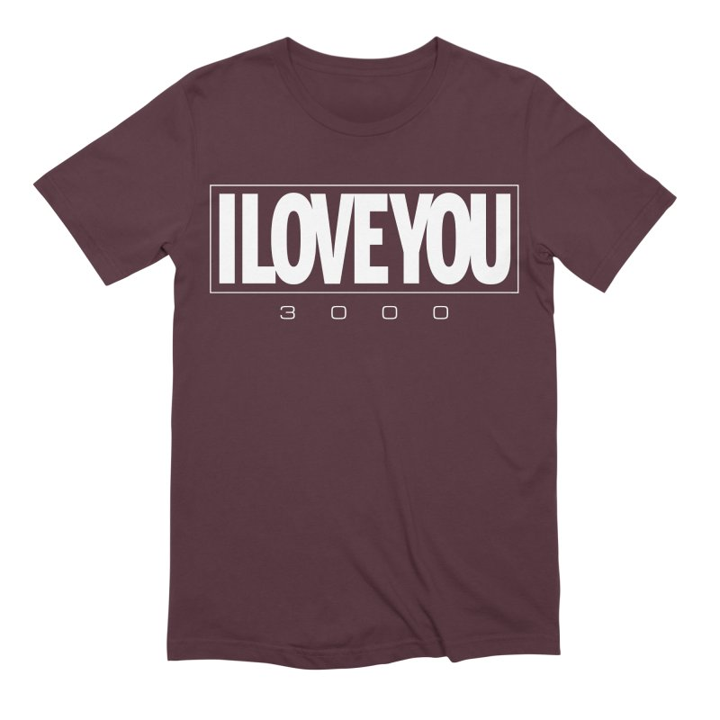 Love3K Men's Extra Soft T-Shirt by Gamma Bomb - Explosively Mutating Your Look