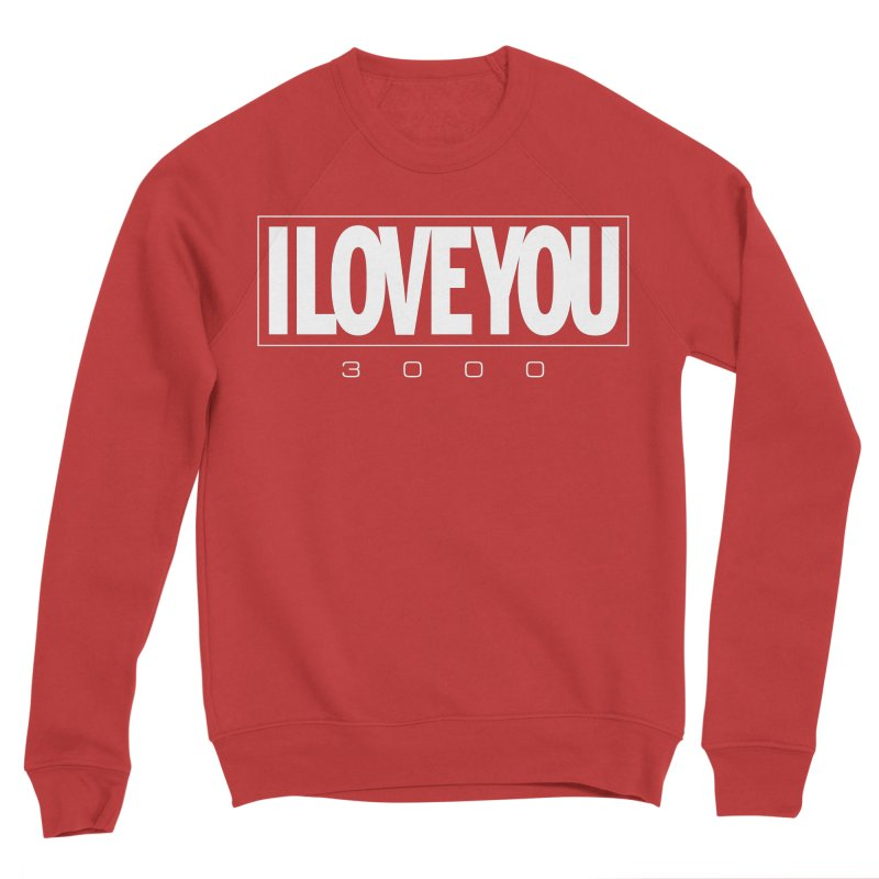 Love3K Men's Sponge Fleece Sweatshirt by Gamma Bomb - Explosively Mutating Your Look
