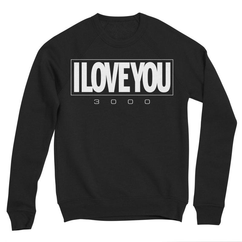 Love3K Men's Sponge Fleece Sweatshirt by Gamma Bomb - Explosively Mutating Your Look