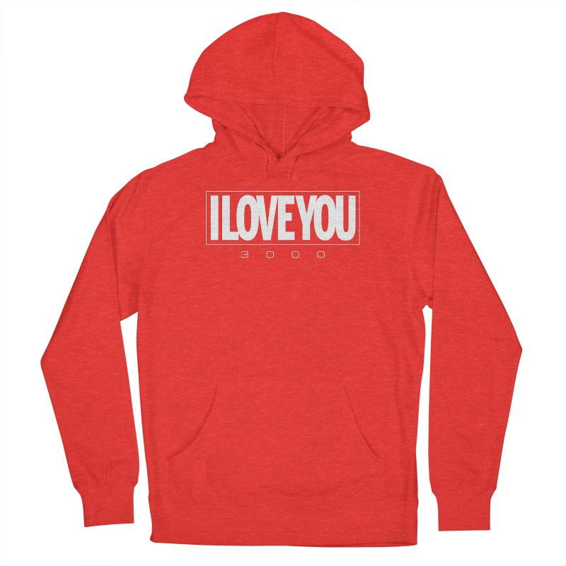 Love3K Men's Pullover Hoody by Gamma Bomb - Explosively Mutating Your Look