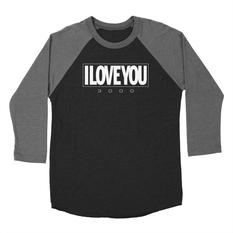 Love3K Men's Baseball Triblend Longsleeve T-Shirt by Gamma Bomb - Explosively Mutating Your Look