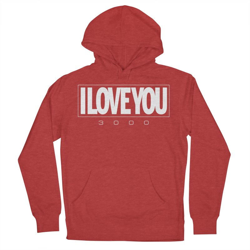Love3K Women's French Terry Pullover Hoody by Gamma Bomb - Explosively Mutating Your Look