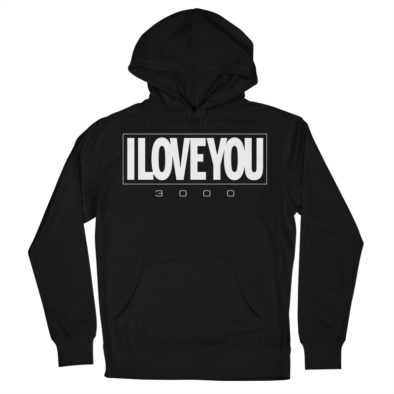 Love3K Men's French Terry Pullover Hoody by Gamma Bomb - Explosively Mutating Your Look