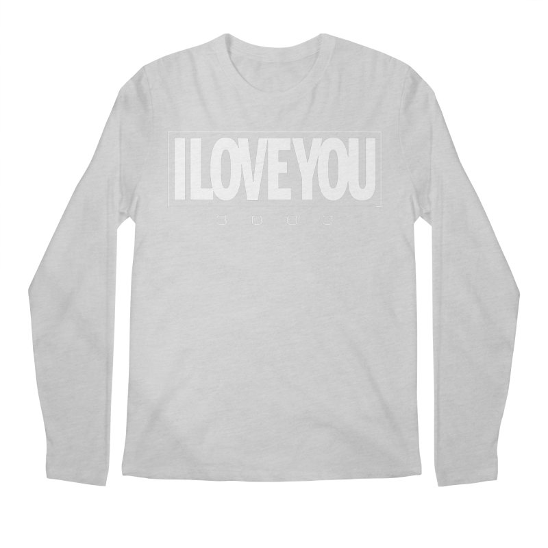 Love3K Men's Regular Longsleeve T-Shirt by Gamma Bomb - Explosively Mutating Your Look