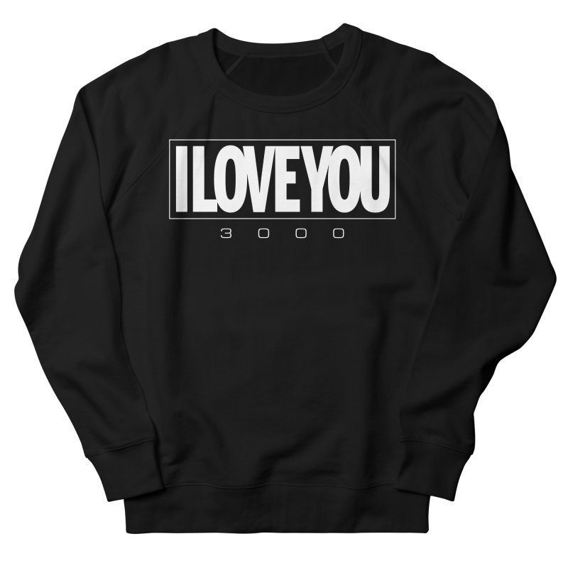 Love3K Men's French Terry Sweatshirt by Gamma Bomb - Explosively Mutating Your Look
