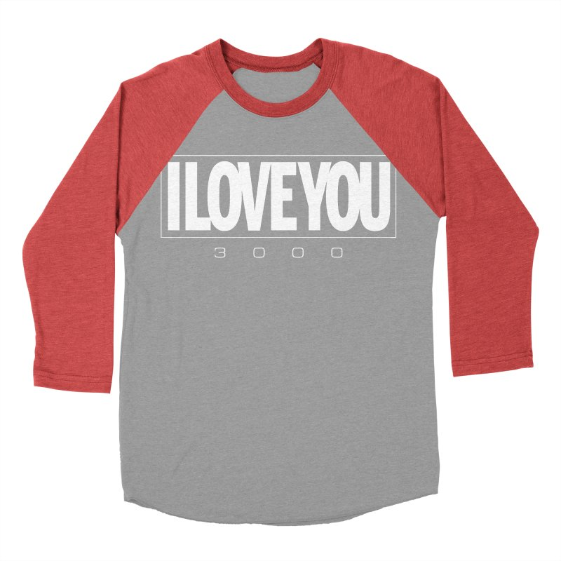 Love3K Women's Baseball Triblend Longsleeve T-Shirt by Gamma Bomb - Explosively Mutating Your Look