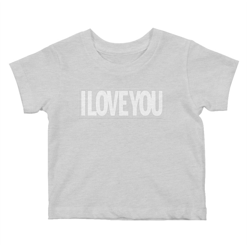 Love3K Kids Baby T-Shirt by Gamma Bomb - Explosively Mutating Your Look