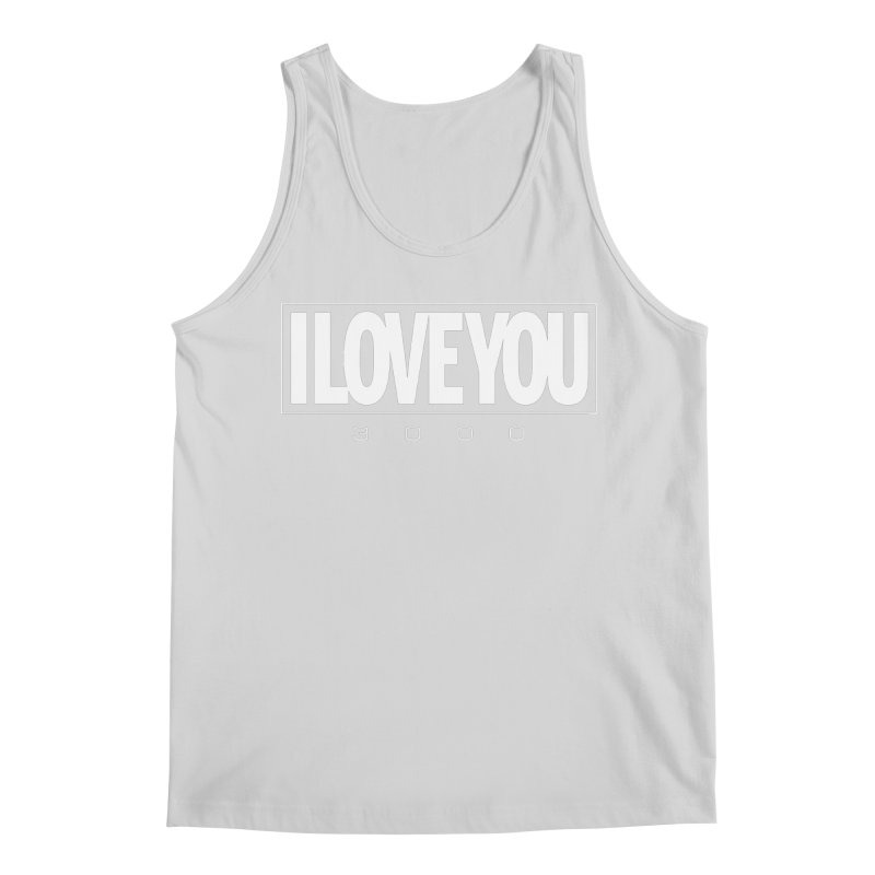 Love3K Men's Tank by Gamma Bomb - Explosively Mutating Your Look