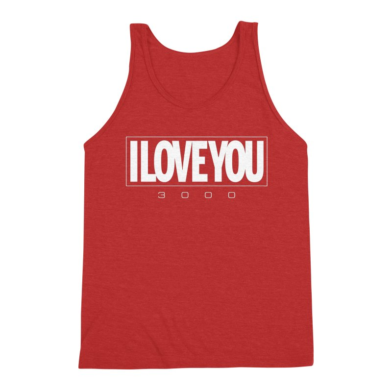 Love3K Men's Triblend Tank by Gamma Bomb - Explosively Mutating Your Look