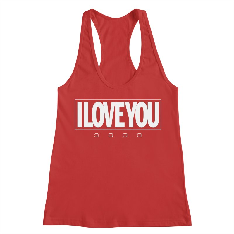 Love3K Women's Racerback Tank by Gamma Bomb - Explosively Mutating Your Look