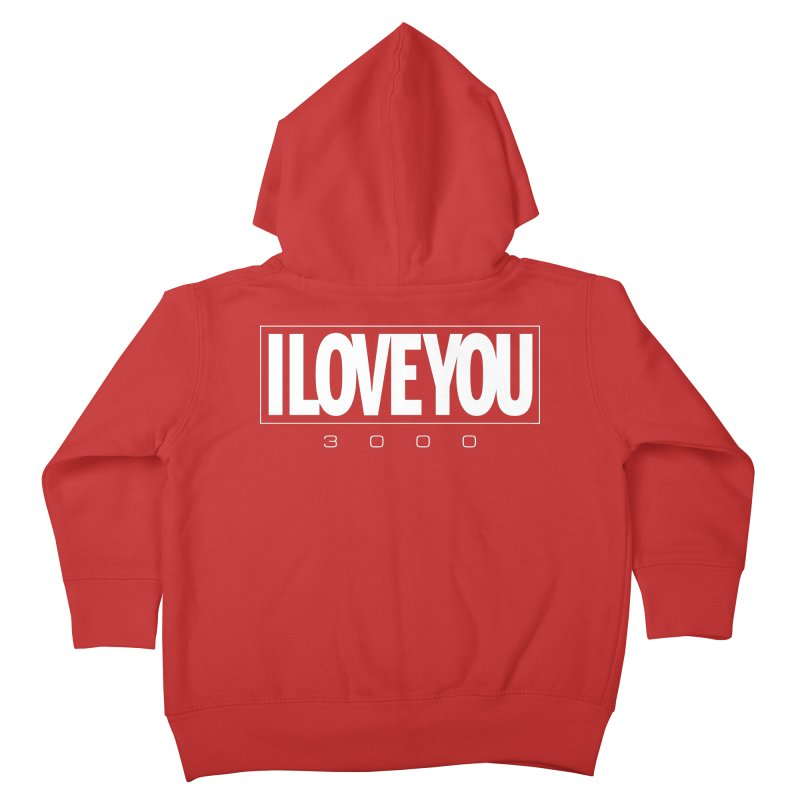 Love3K Kids Toddler Zip-Up Hoody by Gamma Bomb - Explosively Mutating Your Look