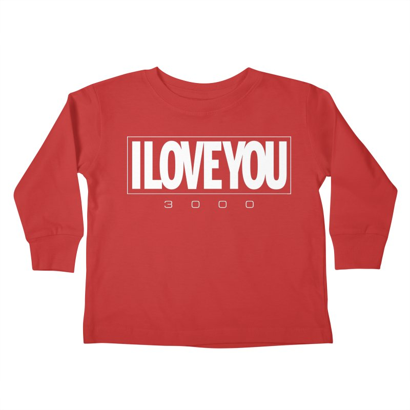 Love3K Kids Toddler Longsleeve T-Shirt by Gamma Bomb - Explosively Mutating Your Look