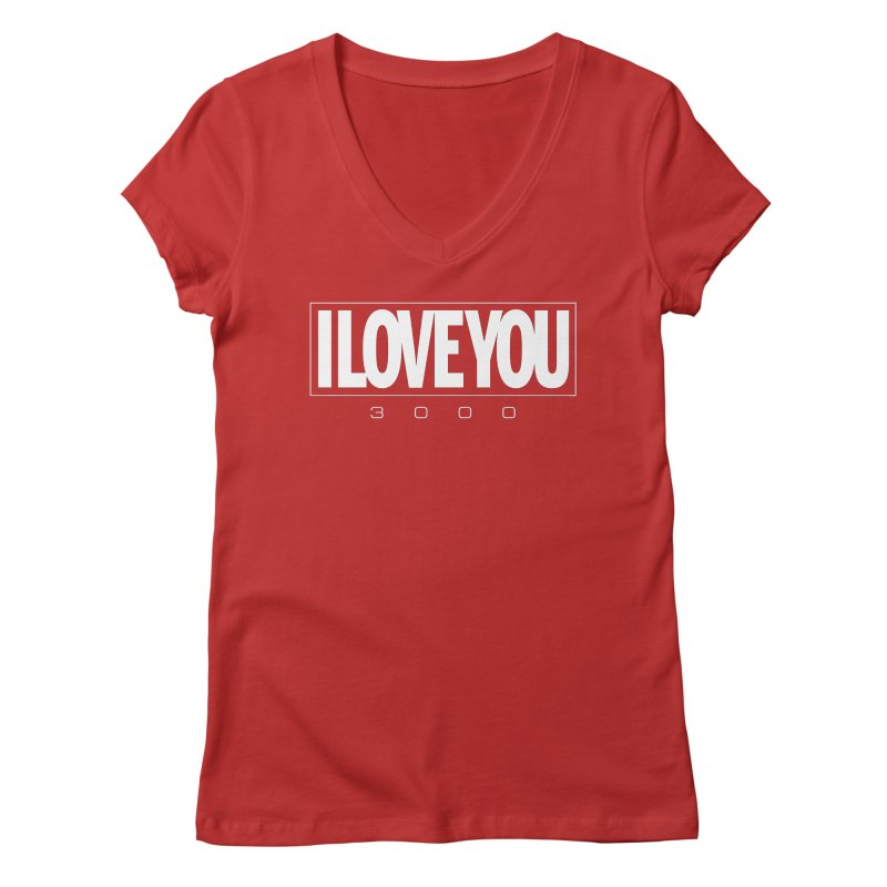Love3K Women's Regular V-Neck by Gamma Bomb - Explosively Mutating Your Look