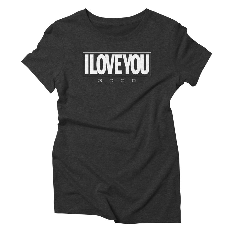 Love3K Women's Triblend T-Shirt by Gamma Bomb - Explosively Mutating Your Look