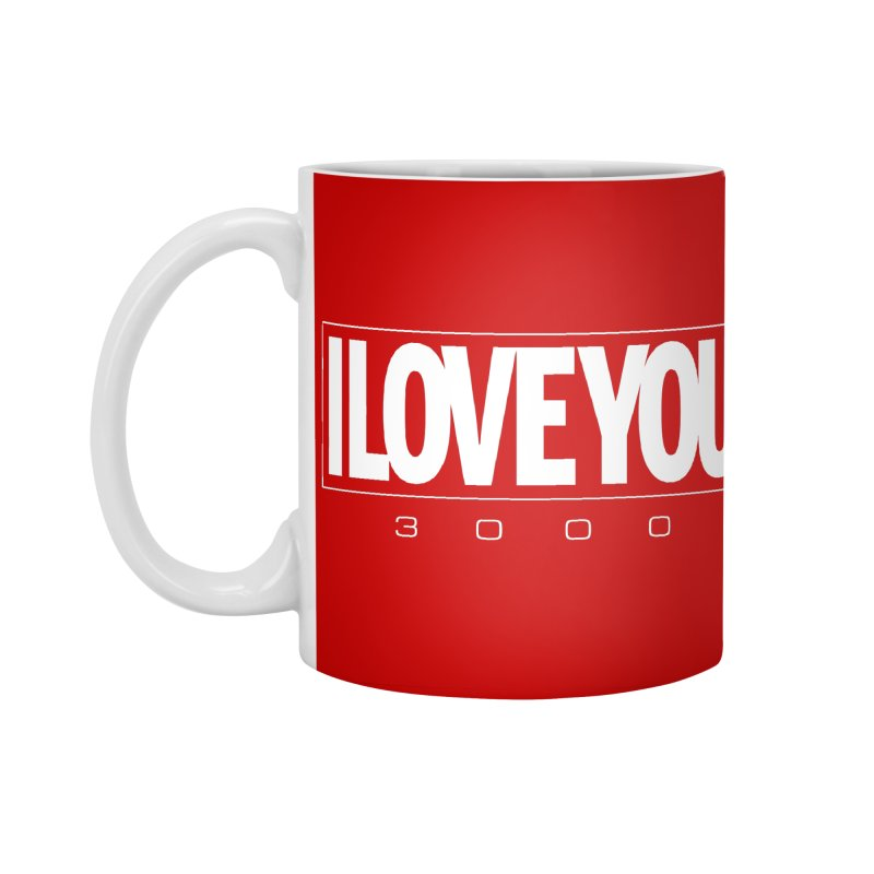 Love3K Accessories Standard Mug by Gamma Bomb - Explosively Mutating Your Look
