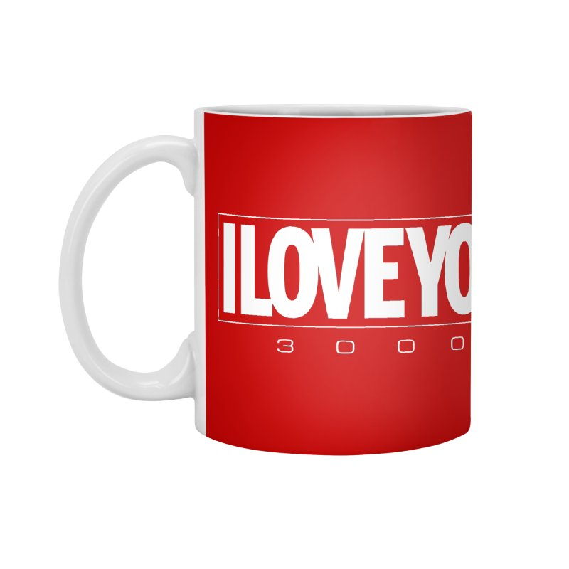 Love3K Accessories Mug by Gamma Bomb - Explosively Mutating Your Look