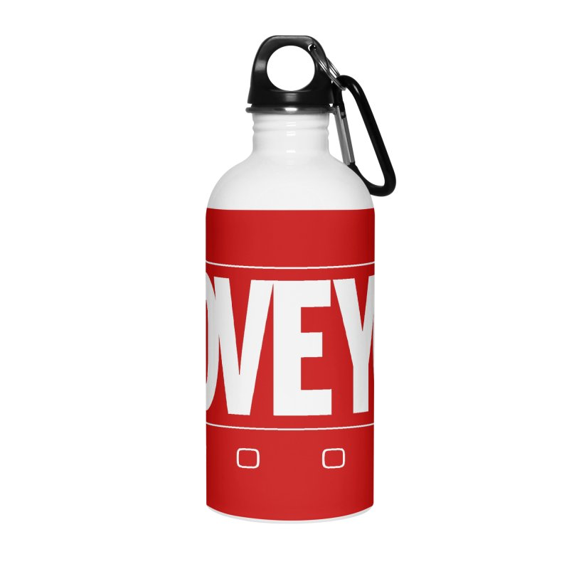 Love3K Accessories Water Bottle by Gamma Bomb - Explosively Mutating Your Look