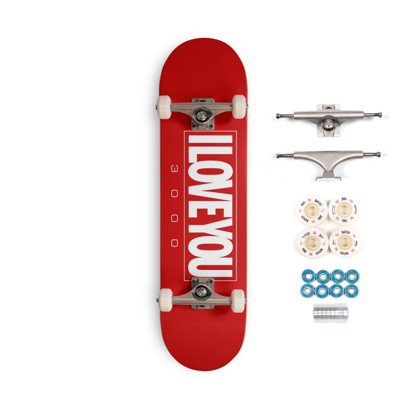 Love3K Accessories Complete - Premium Skateboard by Gamma Bomb - Explosively Mutating Your Look