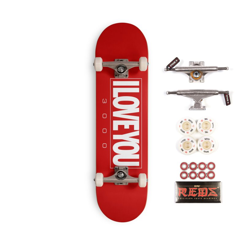 Love3K Accessories Complete - Pro Skateboard by Gamma Bomb - Explosively Mutating Your Look