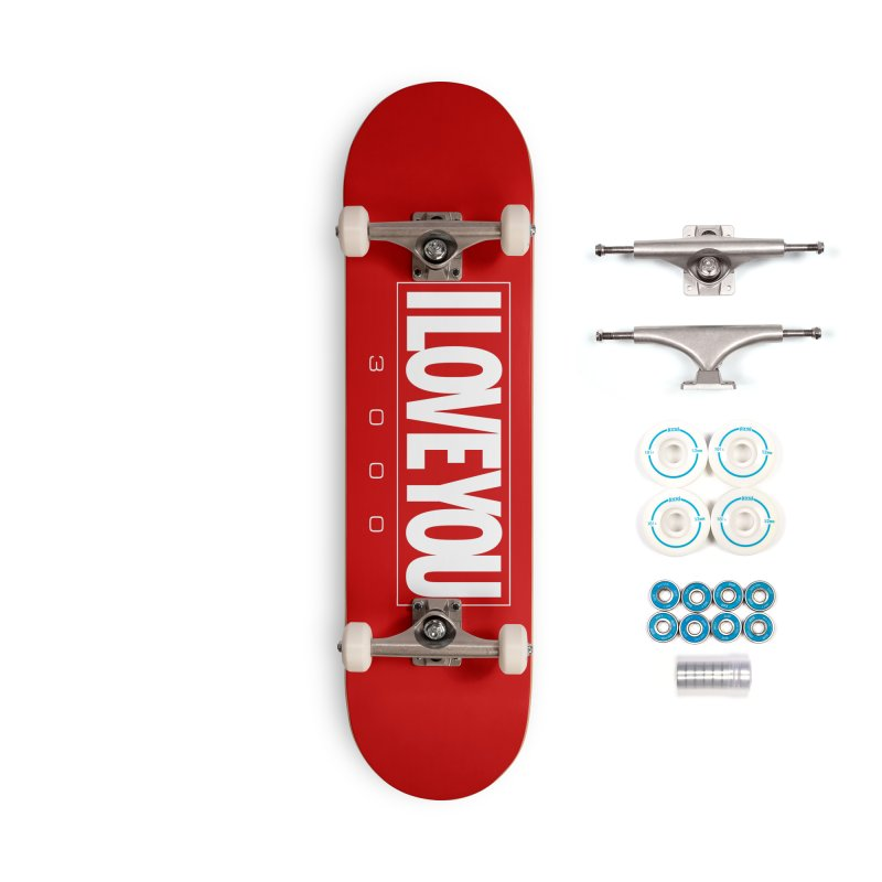 Love3K Accessories Complete - Basic Skateboard by Gamma Bomb - Explosively Mutating Your Look