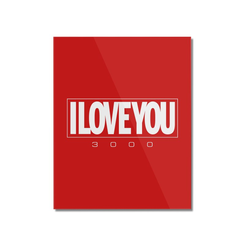 Love3K Home Mounted Acrylic Print by Gamma Bomb - Explosively Mutating Your Look