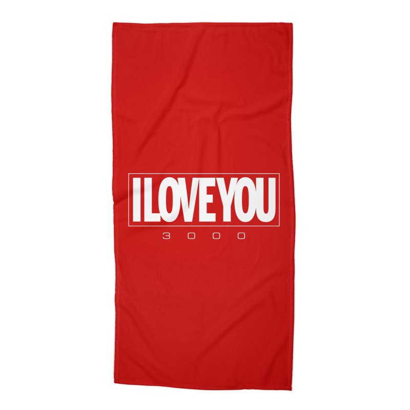 Love3K Accessories Beach Towel by Gamma Bomb - Explosively Mutating Your Look