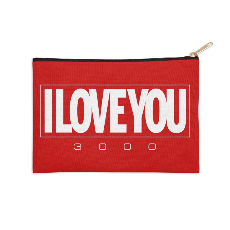 Love3K Accessories Zip Pouch by Gamma Bomb - Explosively Mutating Your Look