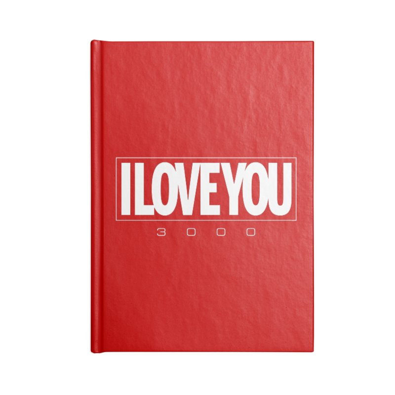 Love3K Accessories Blank Journal Notebook by Gamma Bomb - Explosively Mutating Your Look