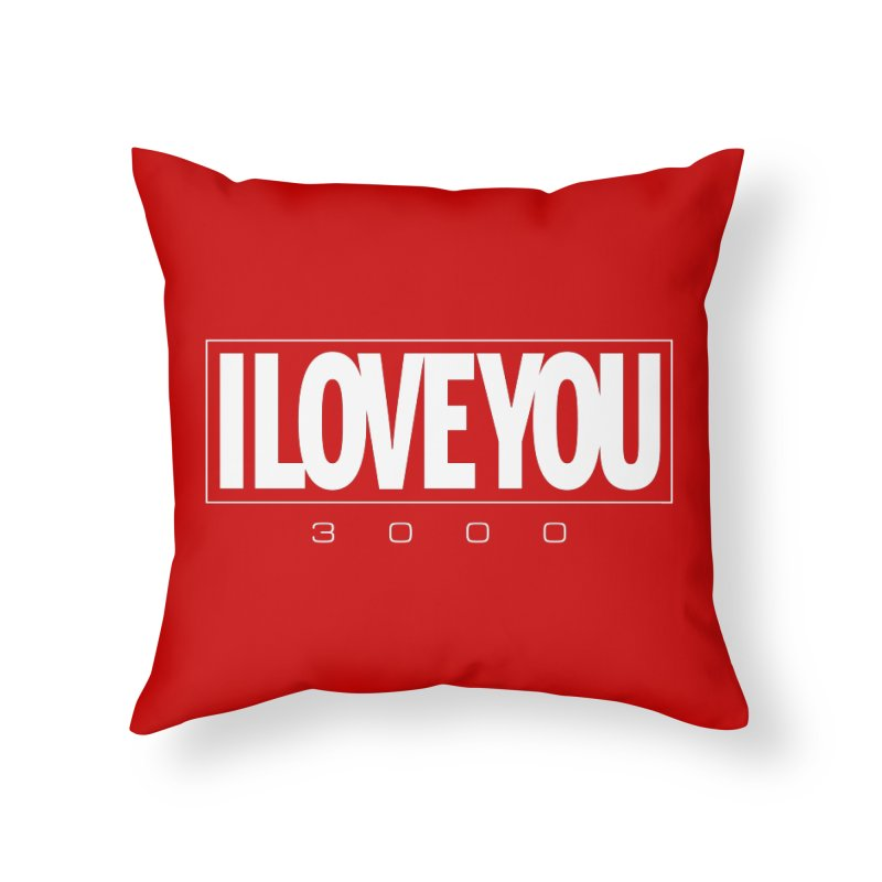 Love3K Home Throw Pillow by Gamma Bomb - Explosively Mutating Your Look