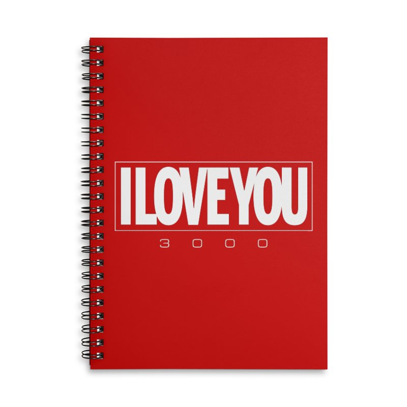 Love3K Accessories Lined Spiral Notebook by Gamma Bomb - Explosively Mutating Your Look
