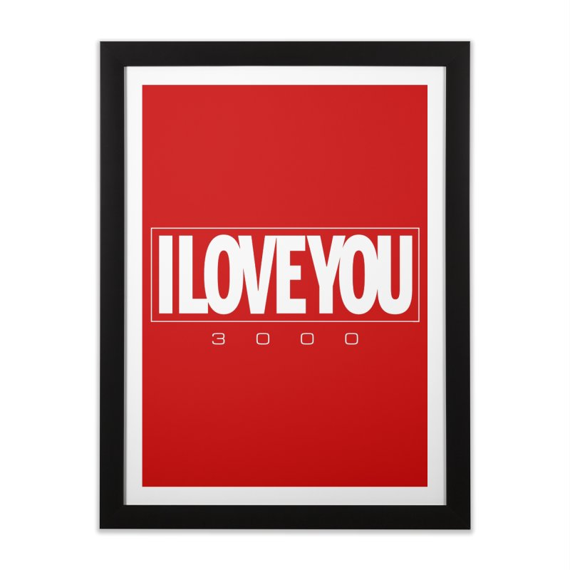 Love3K Home Framed Fine Art Print by Gamma Bomb - Explosively Mutating Your Look