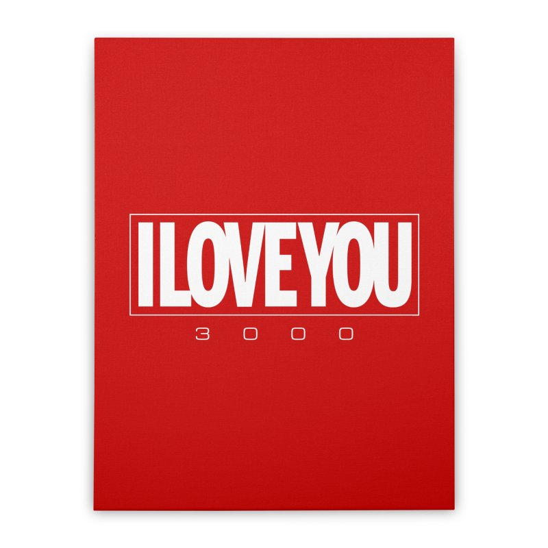 Love3K Home Stretched Canvas by Gamma Bomb - Explosively Mutating Your Look
