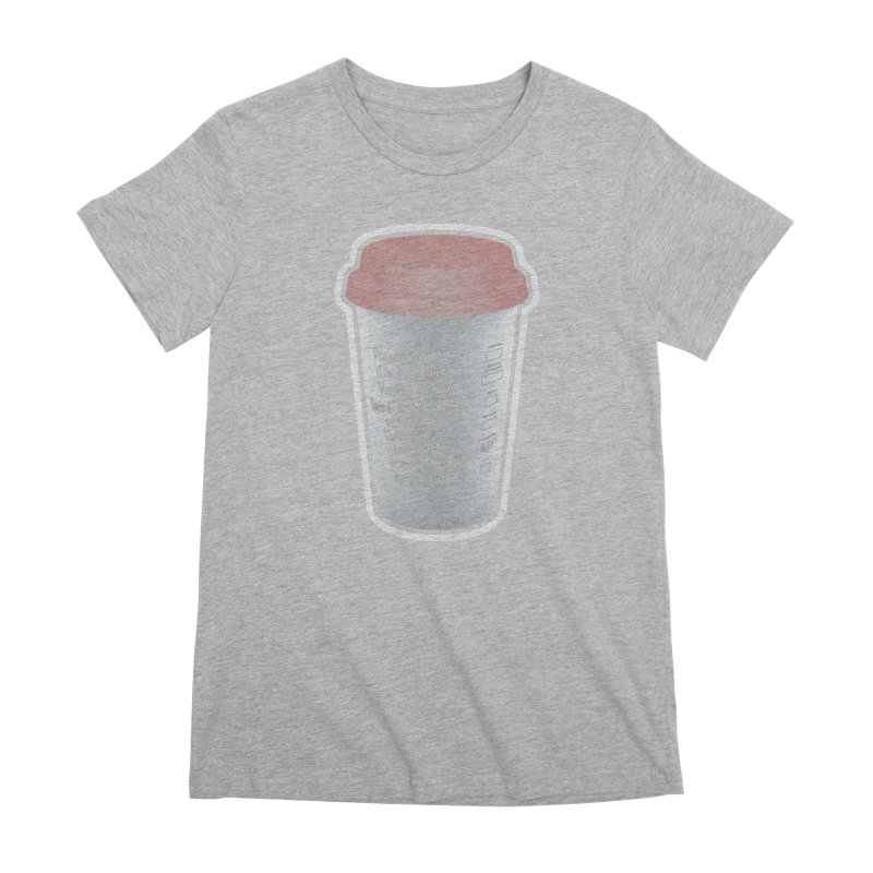 Hot Mess Women's Premium T-Shirt by Gamma Bomb - Explosively Mutating Your Look