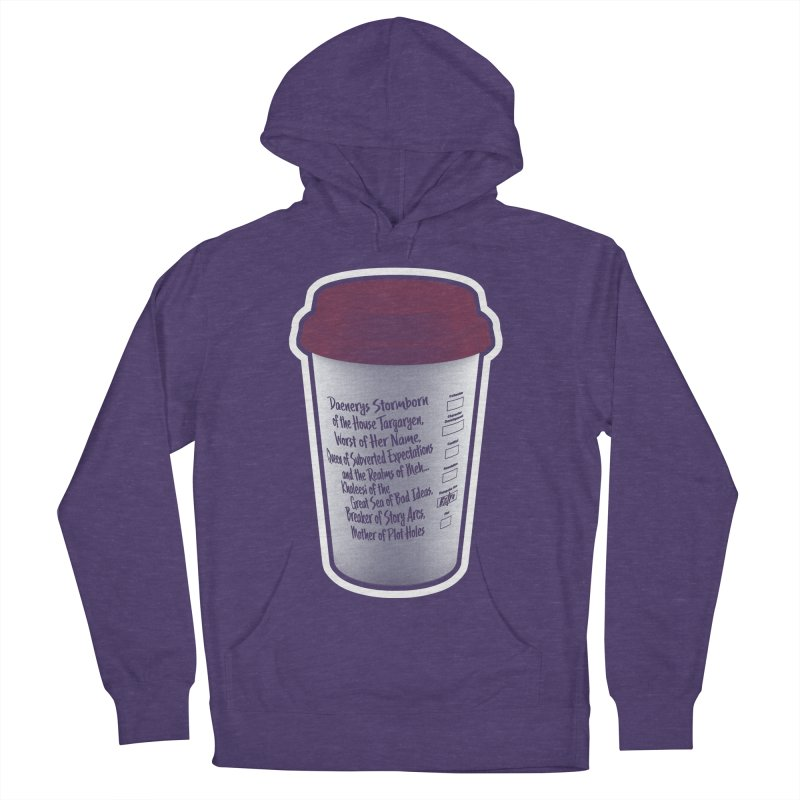 Hot Mess Women's French Terry Pullover Hoody by Gamma Bomb - Explosively Mutating Your Look