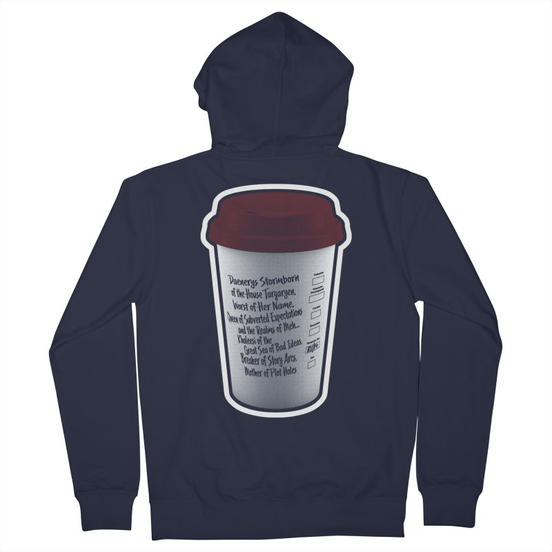 Hot Mess Men's French Terry Zip-Up Hoody by Gamma Bomb - Explosively Mutating Your Look