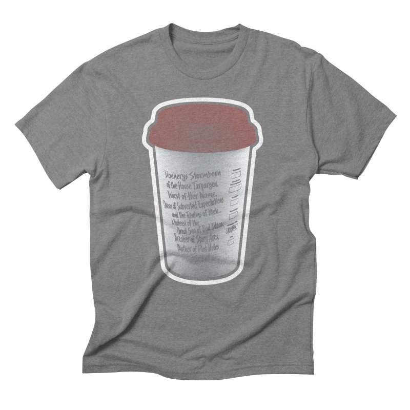 Hot Mess Men's Triblend T-Shirt by Gamma Bomb - Explosively Mutating Your Look