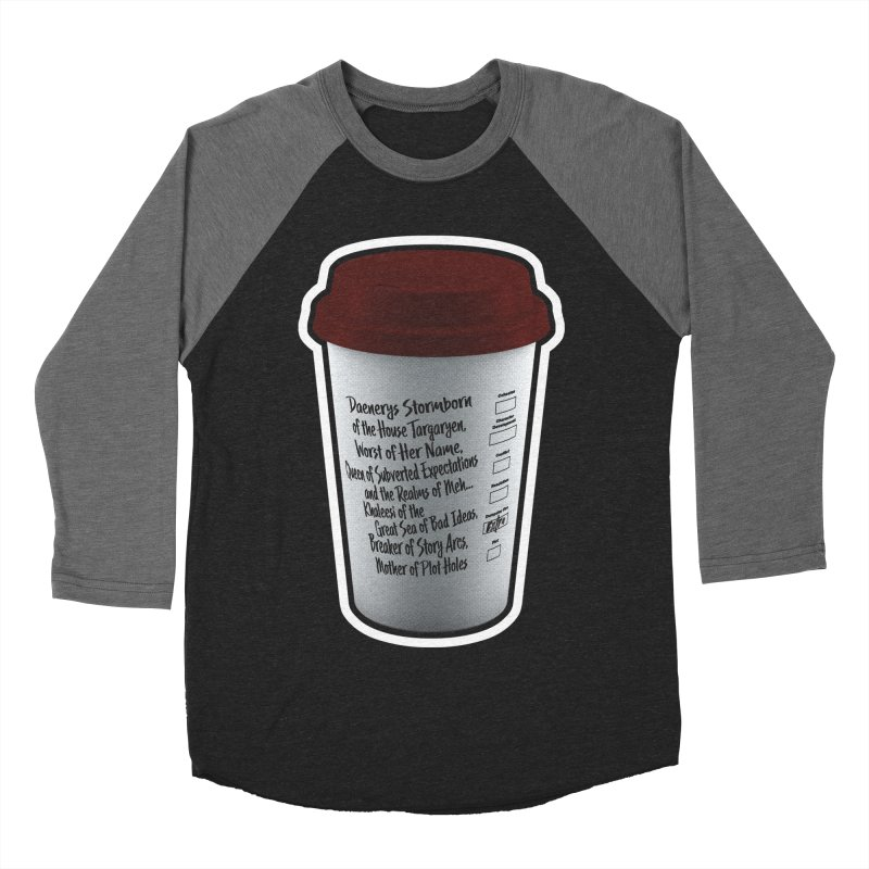 Hot Mess Women's Baseball Triblend Longsleeve T-Shirt by Gamma Bomb - Explosively Mutating Your Look