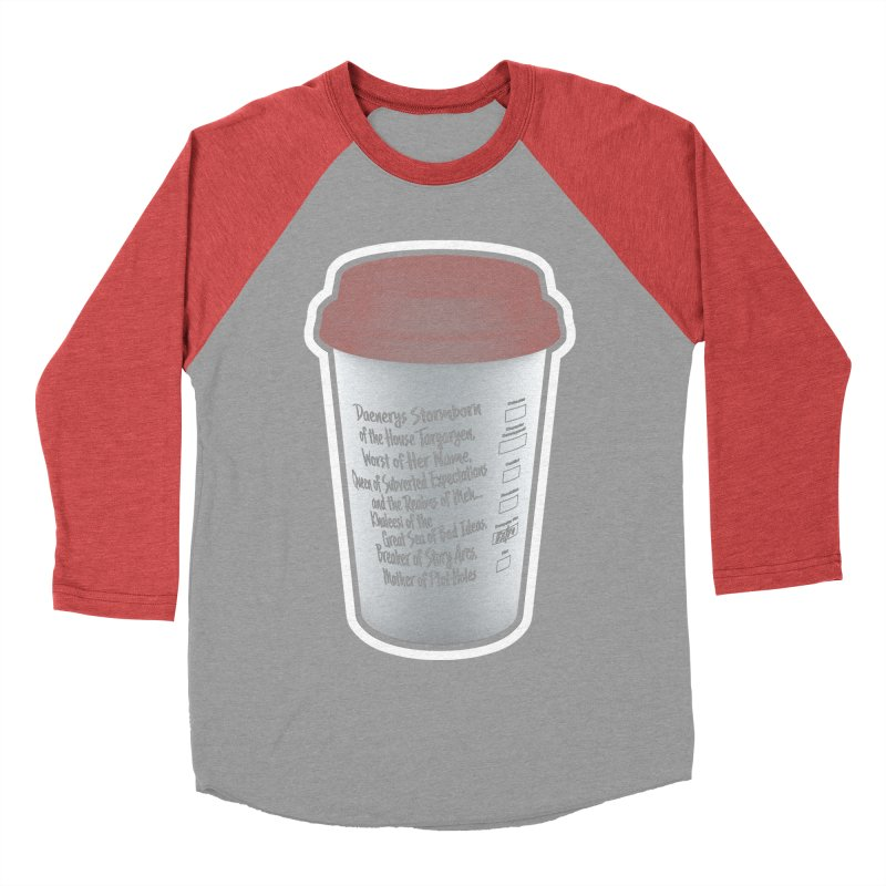 Hot Mess Men's Baseball Triblend Longsleeve T-Shirt by Gamma Bomb - Explosively Mutating Your Look