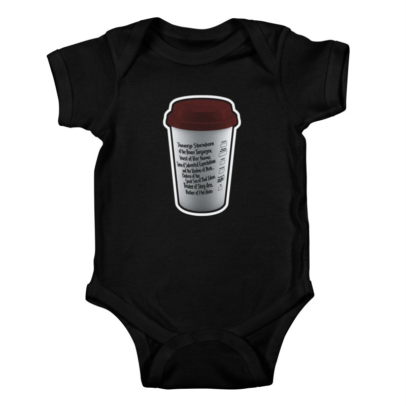 Hot Mess Kids Baby Bodysuit by Gamma Bomb - Explosively Mutating Your Look