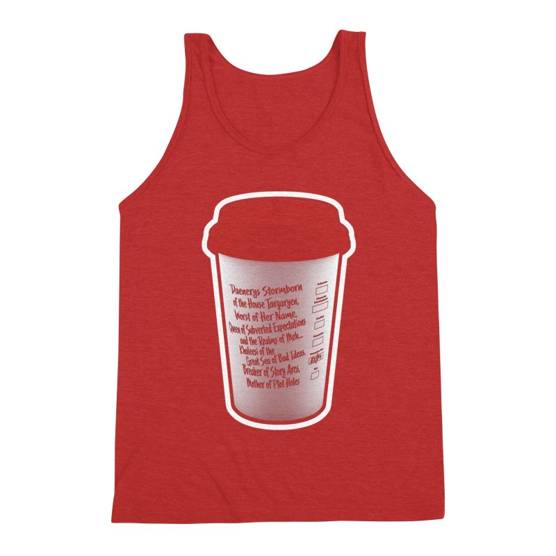 Hot Mess Men's Triblend Tank by Gamma Bomb - Explosively Mutating Your Look