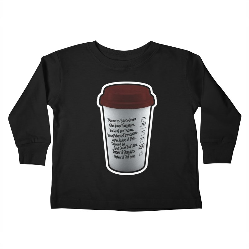 Hot Mess Kids Toddler Longsleeve T-Shirt by Gamma Bomb - Explosively Mutating Your Look